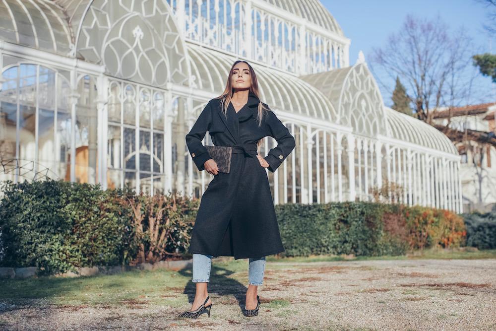cappotto nero online