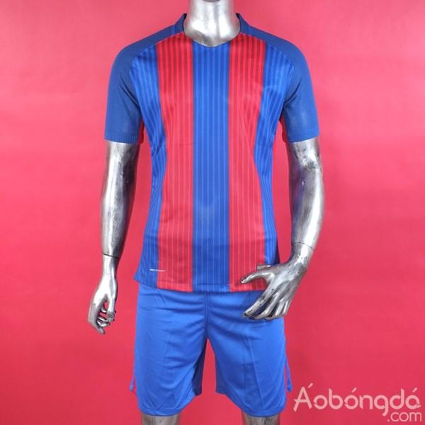 Bộ áo bóng đá siêu cấp không Logo Barcelona sân nhà 2016/17