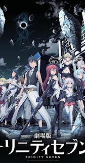 Trinity Seven Movie 1: Eternity Library to Alchemic Girl 720p Eng Sub