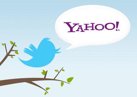 yahoo+twitter