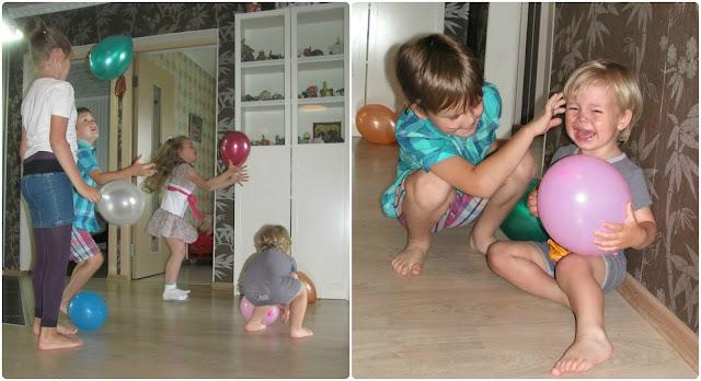 День рождения для ребенка 2 лет.