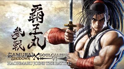 Haohmaru se unirá el próximo martes al plantel de SOULCALIBUR VI
