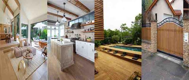 Penempatan lantai kayu berdasarkan jenisnnya