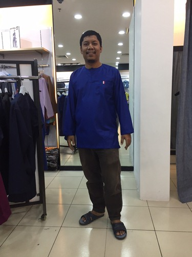 Fitting Kurta Kacax Gio Royal Blue