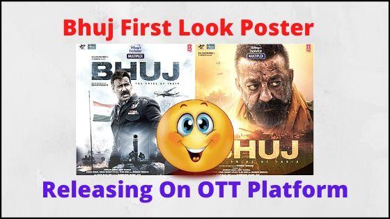 bhuj movie first look poster ajay devgn sanjay dutt