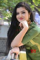 Akshitha cute beauty in Green Salwar at Satya Gang Movie Audio Success meet ~  Exclusive Galleries 005.jpg