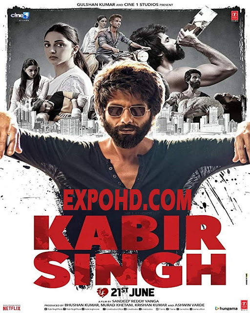 Kabir Singh 2019 Movie Full HD 1080p | Esub 1.3Gbs [Download] | G.Drive