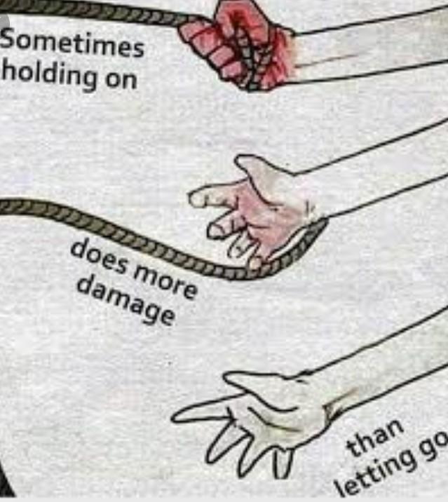 Belajar untuk melepaskan dan memaafkan