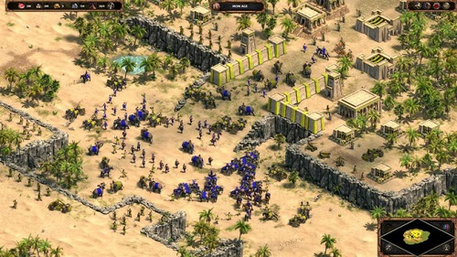 Age of Empires là tựa game RTS huyền thoại