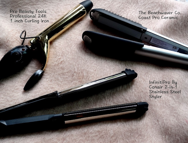 Three Easy To Use Hair Tools For Short Wavy Styles From The Beachwaver Co, Pro Beauty Tools and Conair!