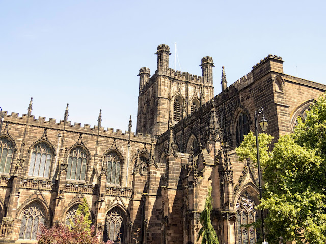 Chester Cathedral in Chester UK