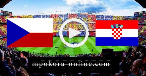 مشاهدة مباراة كرواتيا والتشيك بث مباشر كورة اون لاين 18-06-2021 يورو 2020