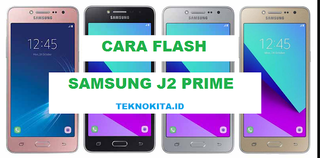 cara flash samsung j2 prime