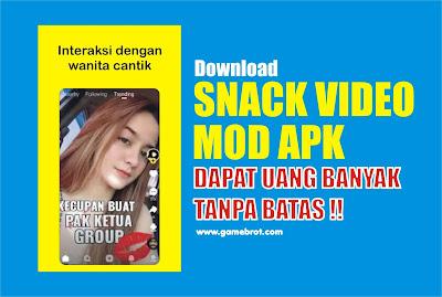 Snack Video MOD Apk Dapat Uang Banyak