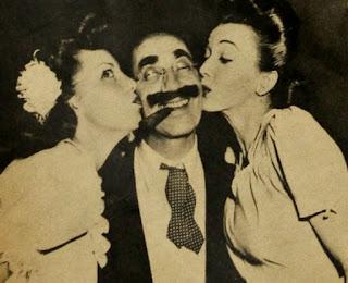 Carole Landis Groucho Marx