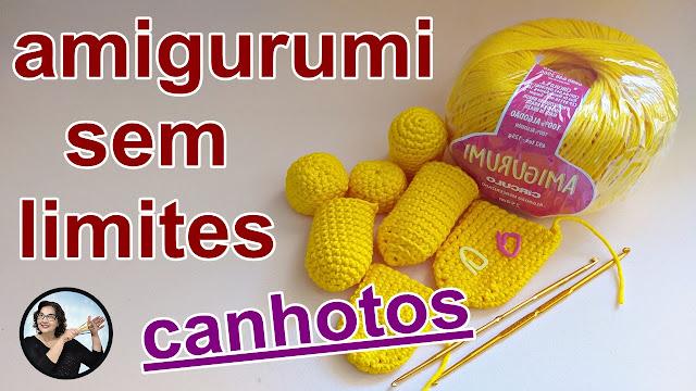 Amigurumi para Canhotos - Curso Avançado de Crochê Grátis