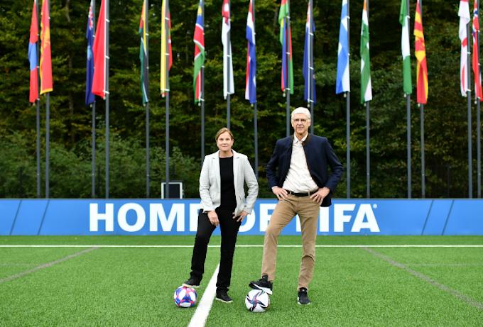 men's and women's football coexist