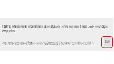 Cara daftar google search console untuk blog