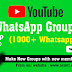 Youtube WhatsApp Group Link (1000+ Youtube Active WhatsApp Link)