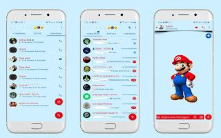 Mario Game Theme For YOWhatsApp & Fouad WhatsApp By Leidiane