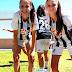 María Montero Triviño e Isabel Rodríguez Gragera, campeonas del Torneo Playa de Doñana con el CD Badajoz