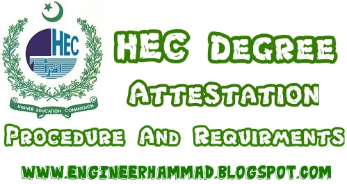 hec degree attestation, hec degree verification, attestation of documents, hec documents attestation