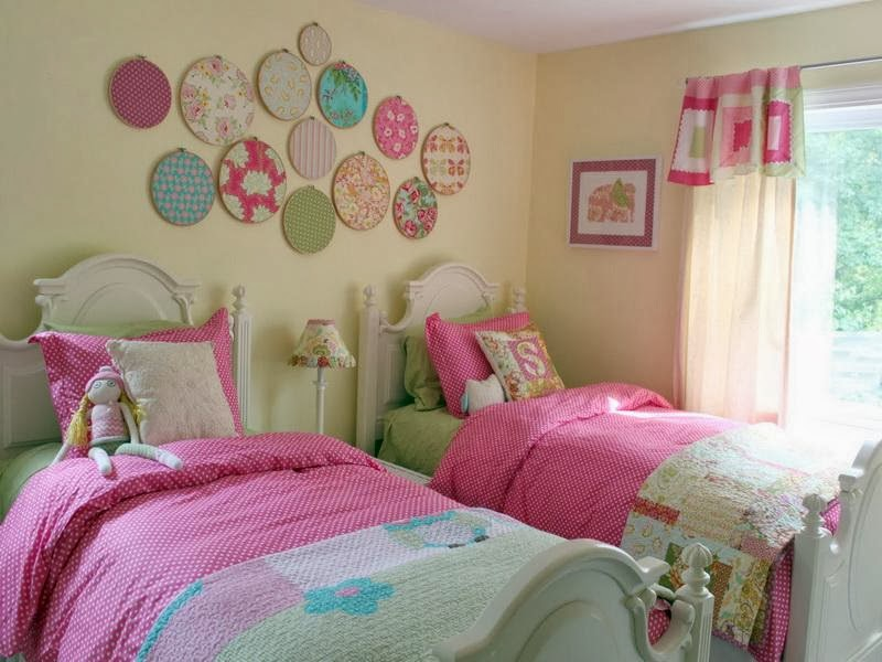 Design Bilik Tidur Anak Perempuan