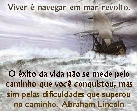Navegando em mar revolto