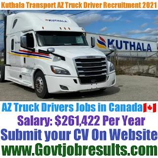 Kuthala Transport AZ Local Truck Driver Recruitment 2021-22