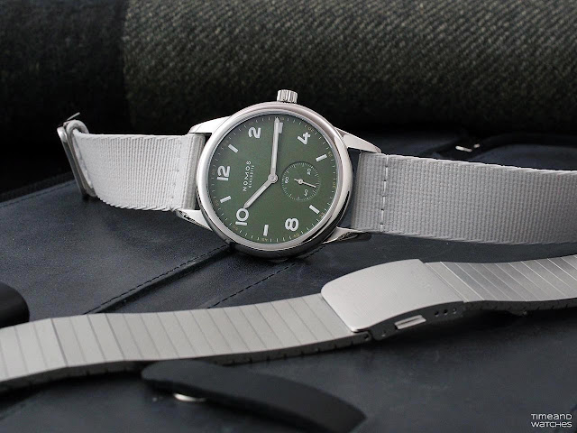 Nomos Club Automatic Olive Green 753.S3