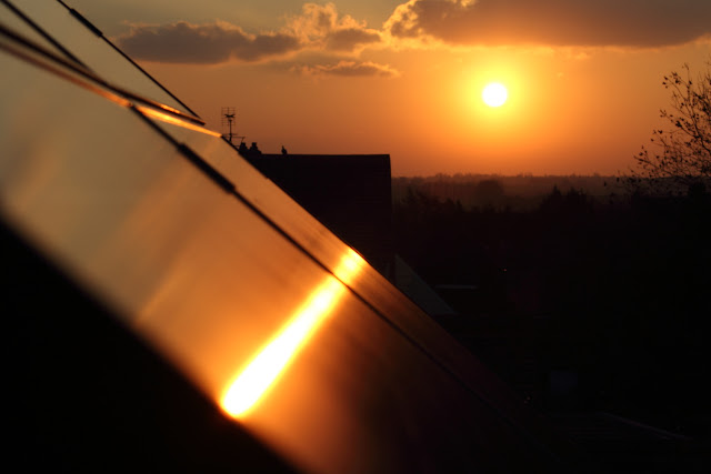 Sunniest April Solar Electricity Records