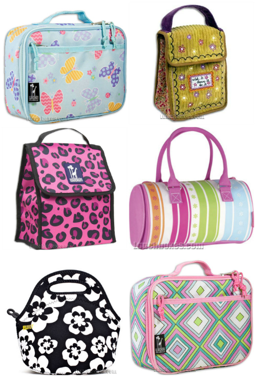 cute insulated girly lunch boxes for kids