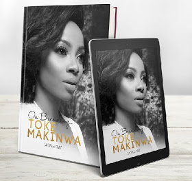 OAP Toke Makinwa Authors A Book On-Becoming