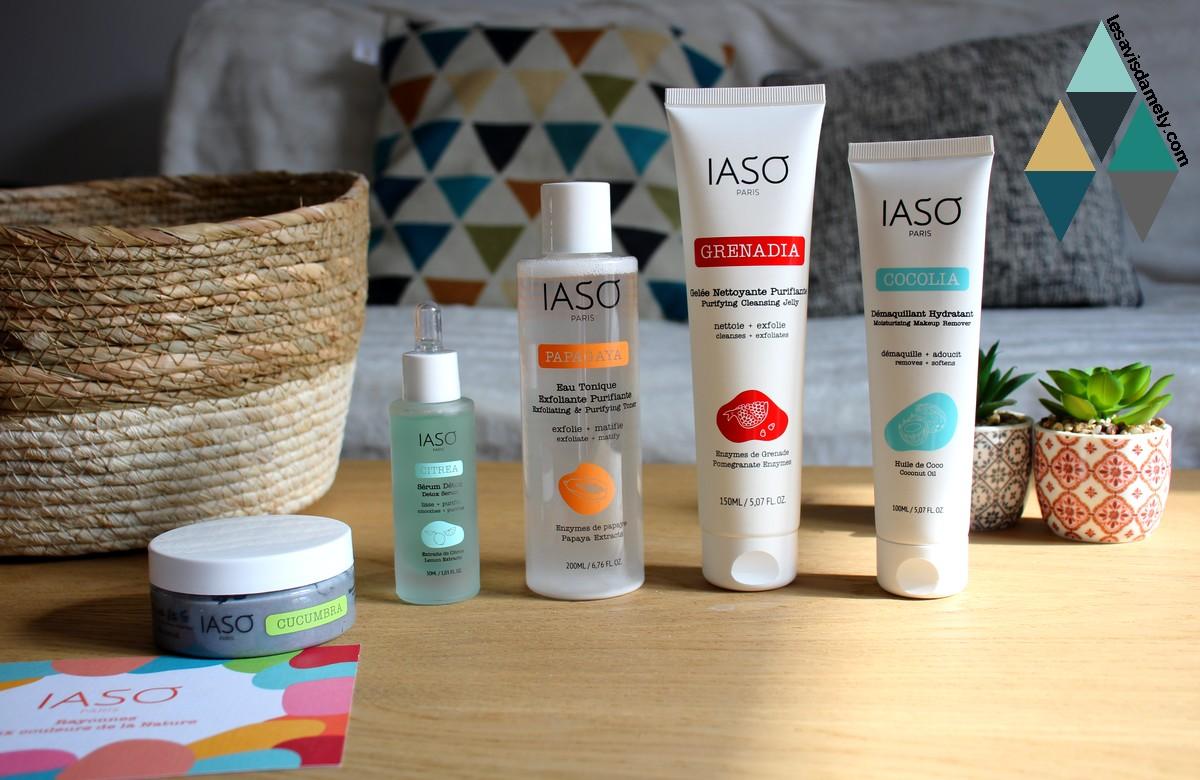 avis et test routine beauté easy detox naturel Iaso Paris