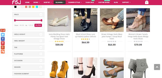 situs untuk membeli aneka sepatu vintage yang cantik