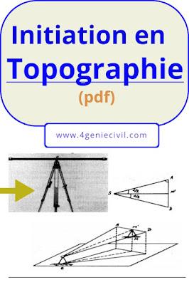 cours de topographie pour debutant pdf