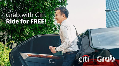Get 12 Free GrabCar Rides Using Citi Card