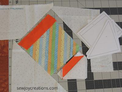 Sew Much Fun tour Faith and Fabric block 2