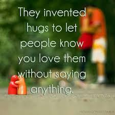Hugs from friends