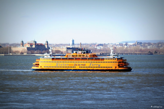 Staten Island ferry-New York