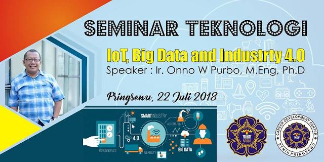 Desain Banner Seminar Teknologi STMIK Pringsewu