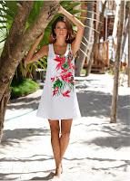 Rochie de plajă cu o croială ultra lejeră (bonprix)