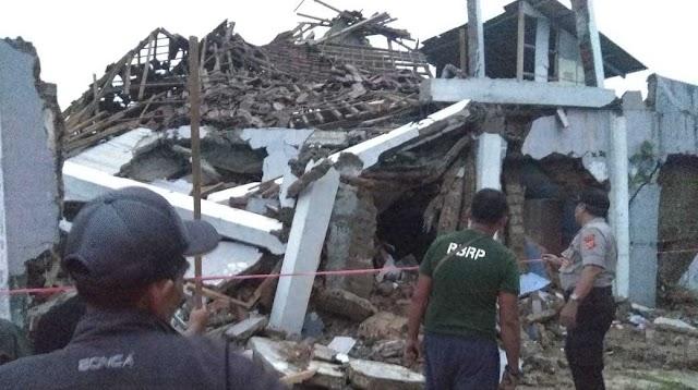 Gempa 5,0 M Guncang Sukabumi, 202 Rumah Rusak dan 173 Warga Mengungsi