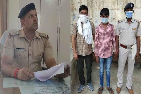 inspector-suresh-bhanad-team-hathin-avi-staff-arrested-criminal-shakir