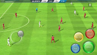 Download Game FIFA 16 Ultimate team V3.2.11 MOD Apk + DATA For Android