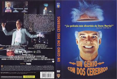 Carátula dvd: Un genio con dos cerebros (1987) The Man With Two Brains