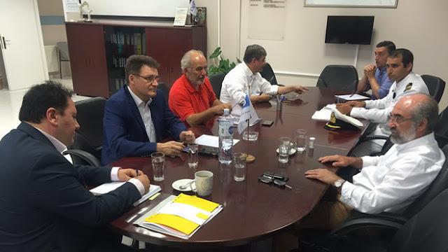 Στην Αλεξανδρούπολη ο Γενικός Γραμματέας Λιμένων και Λιμενικής Πολιτικής