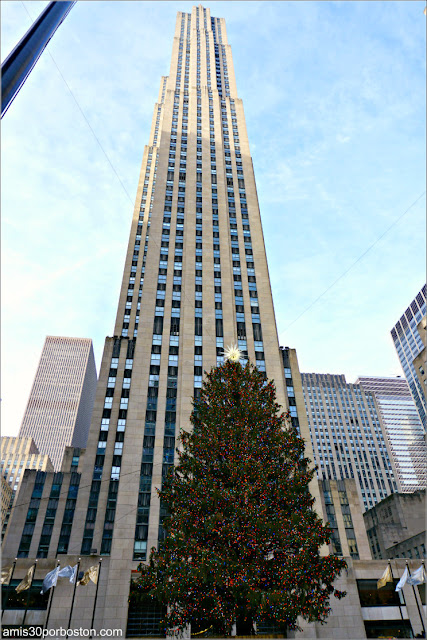 Árbol de Navidad del Rockefeller Center, Nueva York
