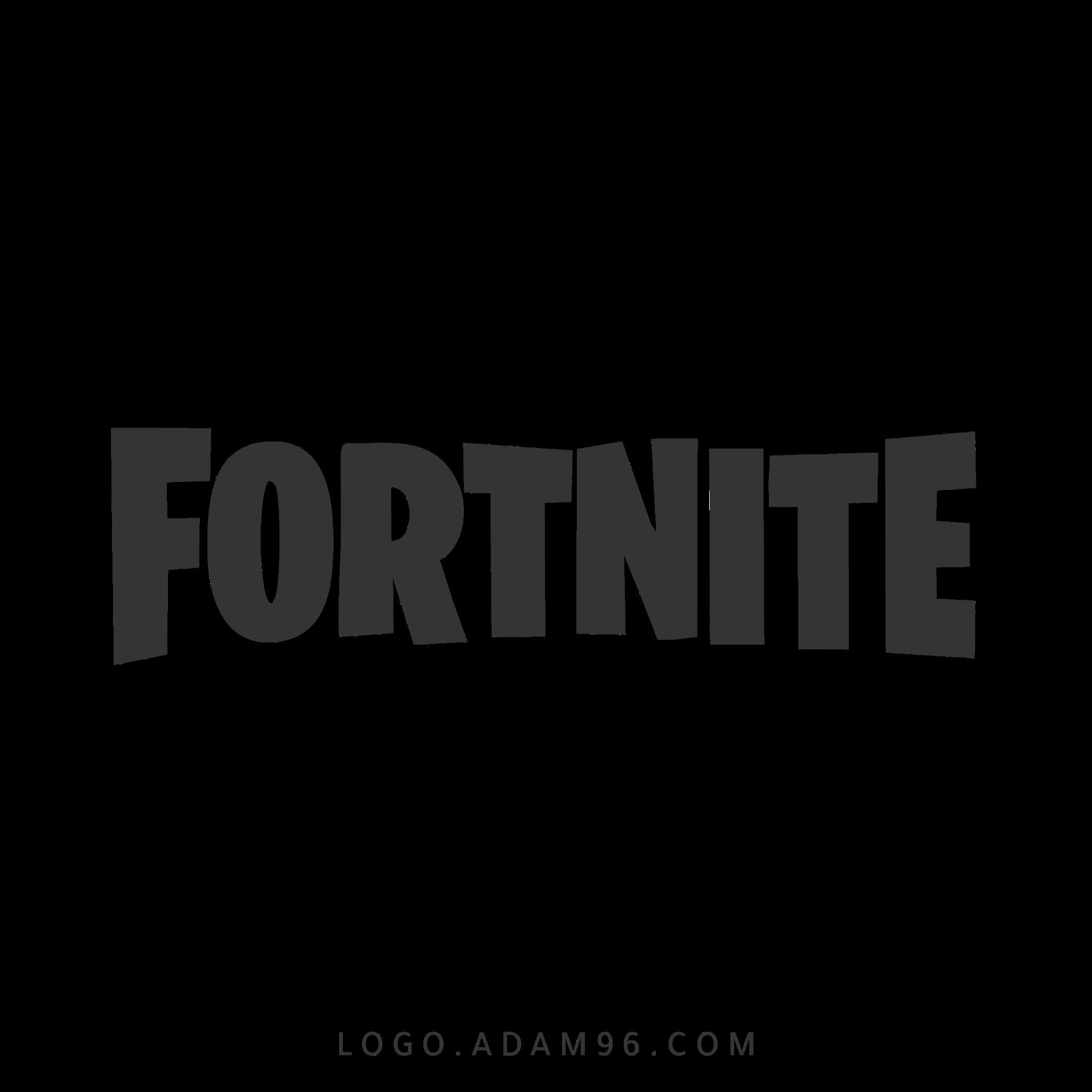 تحميل الشعار الاصلي للعبة فورتنايت لوجو عالي الدقة بصيغة شفافة Logo Fortnite PNG