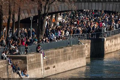 قرنطینه پاریس